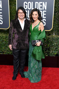 Kevin Kwan and Michelle Yeoh