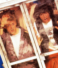 Keanu Reeves and Alex Winter in Bill and Ted's Excellent Adventure