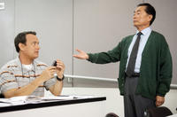 Tom Hanks and George Takei in Larry Crowne
