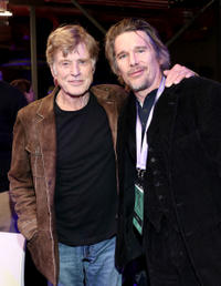 Robert Redford and Ethan Hawke