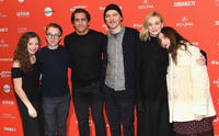 Zoe Margaret Colletti, Ed Oxenbould, Jake Gyllenhaal, Paul Dano, Carey Mulligan and Zoe Kazan