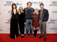 Katherine Waterston, Meredith Danluck, Michael Shannon, Mary Kay Place and Michiel Huisman