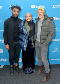 JD Dillard, Kiersey Clemons and Jason Blum