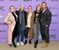 Carrie Coon, Sean Durkin, Oona Roche, Charlie Shotwell and Jude Law