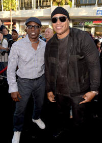 Wesley Snipes and LL Cool J
