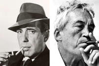 Humphrey Bogart and John Huston