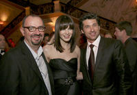 Director Paul Weiland, Michelle Monaghan and Patrick Dempsey