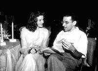Katharine Hepburn and George Cukor