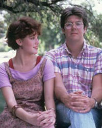 Molly Ringwald and John Hughes
