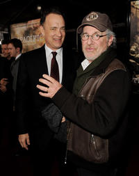 Steven Spielberg and Tom Hanks