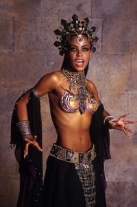 7. QUEEN OF THE DAMNED: Aaliyah
