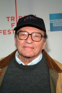 Sydney Lumet at the Tribeca Film Festival for screening of the