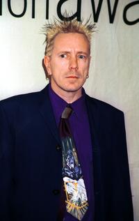 John (Johnny Rotten) Lydon at the VH-1 2000 Fashion Awards.