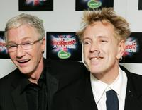 Paul O'Grady and John (Johnny Rotten) Lydon at the British Comedy Awards 2005.
