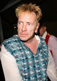 John (Johnny Rotten) Lydon at the Costume Institute Benefit Gala.