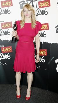 Madonna at the Brit Awards 2006.