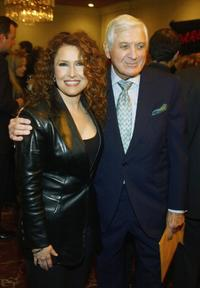 Melissa Manchester and Monty Hall at the Heroes and Heroines Gala Tribute to California Firefighters.