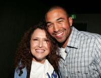 Melissa Manchester and Matt Kemp at the premiere of