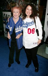 Melissa Manchester and her mother at the premiere of