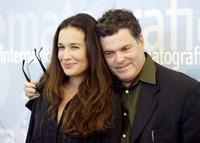 Yael Abecassis and Amos Gitai at the Venice International Film festival.