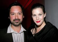 James Mangold and Liv Tyler at the after party for