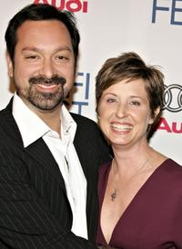 James Mangold and producer Cathy Konrad at the AFI Fest Opening Night Gala.