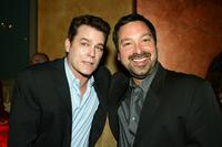 James Mangold and Ray Liota at the after-party of