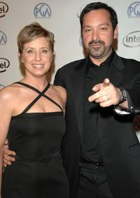 James Mangold and Cathy Konrad at the 2006 Producers Guild awards.