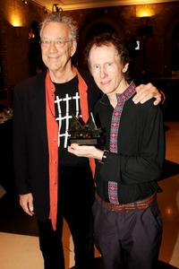 Ray Manzarek and Robby Krieger at the Mojo Honours List Awards Ceremony.