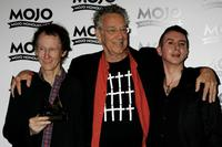 Robby Krieger, Ray Manzarek and Marc Almond at the Mojo Honours List Awards Ceremony.