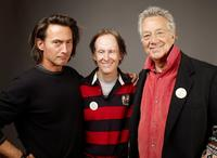 Tom DiCillo, Robby Krieger and Ray Manzarek at the 2009 Sundance Film Festival.