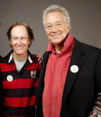 Robby Krieger and Ray Manzarek at the 2009 Sundance Film Festival.