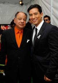 Cheech Marin and Mario Lopez at the 2007 NCLR ALMA Awards.