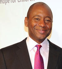Branford Marsalis at the Samsung Hope for Children gala in New York.