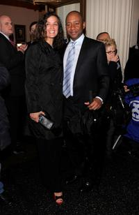 Branford Marsalis and Guest at the after party of the Opening Night of