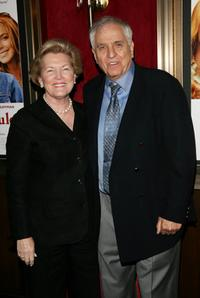 Garry Marshall and Barbara Marshall at the Ziegfeld Theatre for the premiere of
