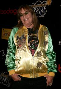 Penny Marshall at the Los Angeles Lakers 3rd annual Mirage Las Vegas Casino Night and Bodog Celebrity Poker Invitational benefiting Los Angeles Lakers Youth Foundation at Barker Hangar.