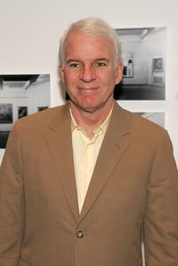 Steve Martin at the private screening of