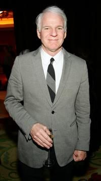 Steve Martin at the after party for the premiere of Monty Python's