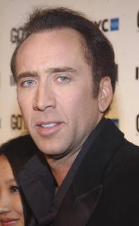 Nicolas Cage at the Gotham Magazine 5th Anniversary in New York.