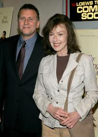 Elaine May and Paul Reiser at the New York premiere of