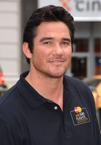 Dean Cain at the kick-off the MasterCard