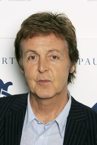 Paul McCartney at the promotion of