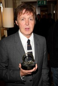 Paul McCartney at the Q Awards party.