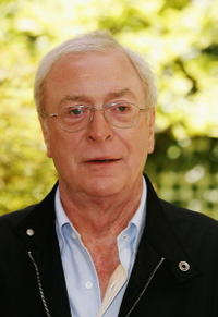 Michael Caine at a Paris photocall for
