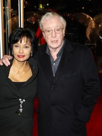 Michael Caine and his wife Shakira at the London Premiere of