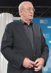 Michael Caine at the Toronto International Film Festival 2007 for press conference of