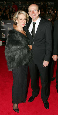 Garry McDonald and Guest at the 52nd TV Week Logie Awards in Australia.
