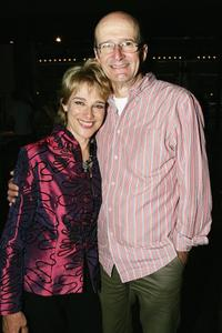 Garry McDonald and Diana Craig at the opening night of