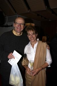Garry McDonald and Diane Rigg at the opening night of